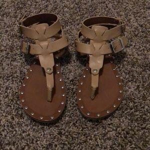 Size 6 tan sandals